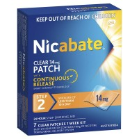 Nicabate Patch Clear 14mg 7 Pack