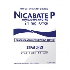 Nicabate P Patch 21mg Patches 28 Pack